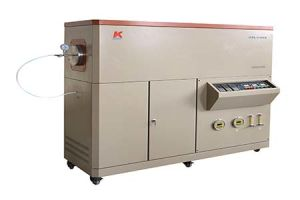 Three Zones Tube Furnace with 150mm Quartz Tube and Gas Flow Controller pictures & photos