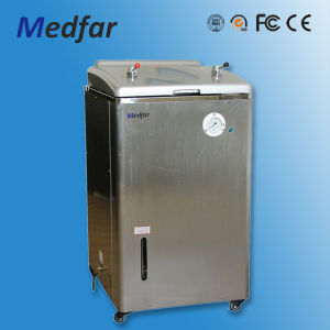Medfar Hot Selling Human Industrial Water Type Pressure Steam Sterilizer pictures & photos