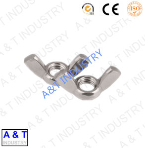 Hot Sale Zinc Plated Carbon Steel Wing Nut with Eye Bolt pictures & photos