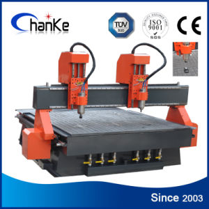 2 Heads Woodworking CNC Router for Furniture Cabinet Acrylic pictures & photos