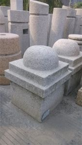 Different Kinds of Parking Post/Blocking Stone/Parking Stone/Stopping Stone in Granite pictures & photos