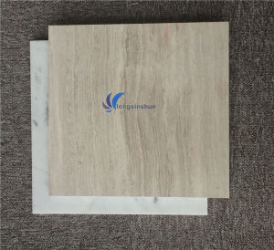 Polished Natural White Wood Grain Marble pictures & photos