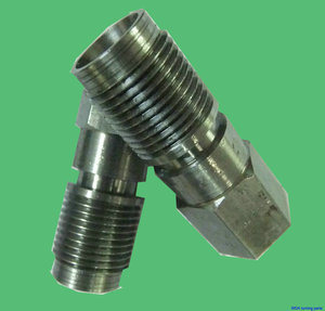 CNC Screw in Steel, Turning, Non-Standard Shape pictures & photos