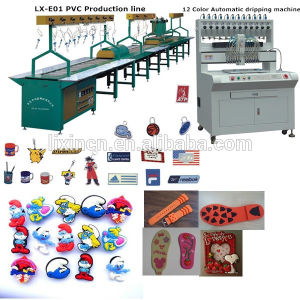 China Manufacture High Frequency Glue Dispensing Machine for PVC Keychains pictures & photos