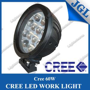 60W Round LED Work Lamp