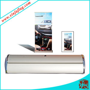 Hand Roll up Banner Mini Pull up Banner pictures & photos