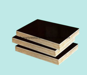 Black/Brown Film Faced Plywood Used for Concrete Formwork/Building Materials pictures & photos