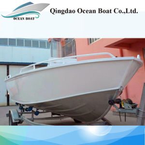 Australia 17FT Bowrider Welded Aluminum Fishing Boat with Ce pictures & photos