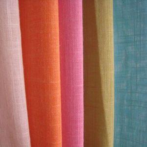 Poly Cotton Fiber Fabric, Slub Curtain Fabric (9051A)