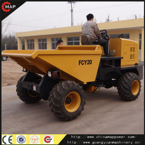 China Factory Supply 2tons Mini Site Dumper pictures & photos