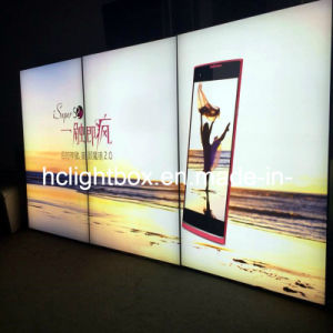 Frameless Photo Frame Aluminum Profile Light Box and Advertising Backlit Billboards
