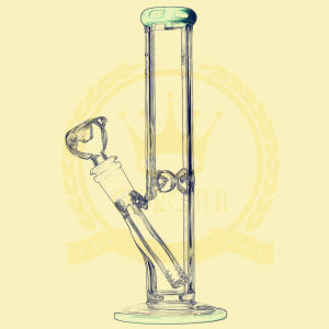 Canada Popular Replaceable Beaker Bigger Size Glass Smoking Water Pipe pictures & photos