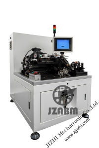 Two-Station Semi-Automatic Auto- Balancing Machine