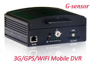 Hot Selling 4-CH SD/HDD Mobile DVR with WiFi/3G/GPS/G-Sensor pictures & photos