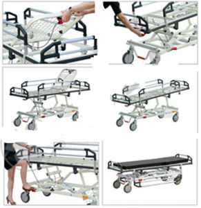 Hospital Docking Operation Stretcher/ Emergency Bed for Transfer pictures & photos