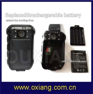 New Product Police Camera 8000mAh Battery 32g Memory with 4G 3G GPS for Patrolman pictures & photos