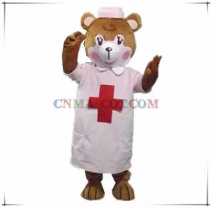 Beautiful Nurse Bear Mascot Animal Mascot Costume