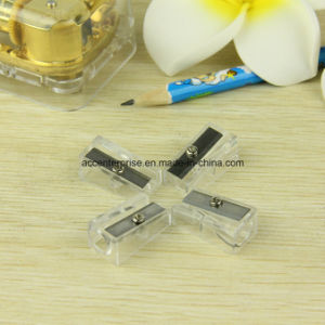 Transparent One Hole Sharpener pictures & photos