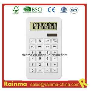 White Color Eco Calculator for School Stationery pictures & photos
