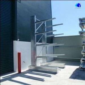 Quality Warehouse Storage Q235 Heavy Duty Selective Cantilever Rack