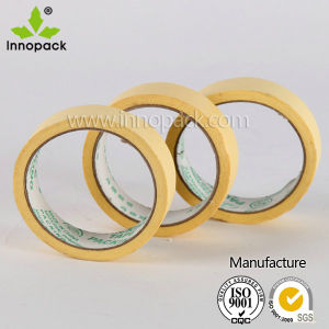 Economy Grade Non-Critical Applications Yellow Masking Tape pictures & photos
