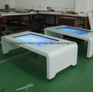42 Inch Mobile Digital Interactive Table Touch Screen Information Display pictures & photos