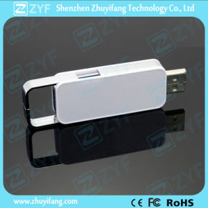 High Speed Chip Sliding Plastic USB Flash Drive (ZYF1242) pictures & photos
