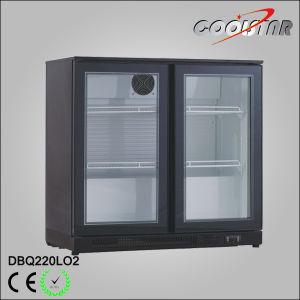 Double Door Bar Bottle Cooler pictures & photos