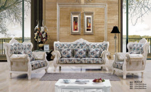 Royal Sofa, Europe Sofa, New Classic Fabric Sofa (B001) pictures & photos