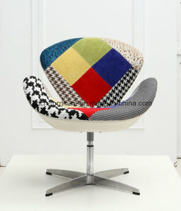 Restaurant Swivel Patchwork Swan Chair pictures & photos