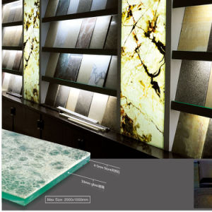 Translucent Stone Panel-Marble/Granite Backed Glass Composite Panels pictures & photos