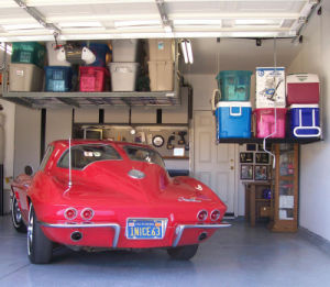 Garage Overhead Rack, Garage Ceiling Storage Rack, Hanging Shelf, Garage Tire Rack pictures & photos