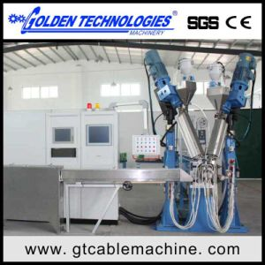 Physical Foam Electric Wire Cable Extrusion Equipment pictures & photos