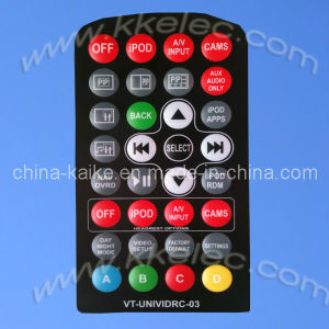Embossed Overlay Membrane Switches Assembled with Aluminum Hardware and Stand-off pictures & photos