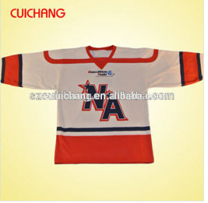 Custom Low Price Sublimation Ice Hockey Jersey pictures & photos