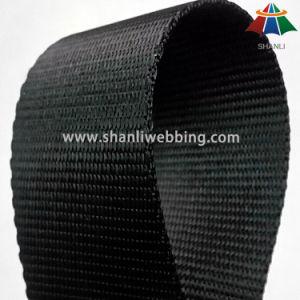 1.5 Inch No Hanging Yarn Black Nylon Webbing pictures & photos