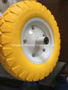 Maxtop Factory Air Wheelbarrow Wheel pictures & photos