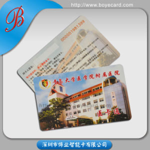 SGS Approved PVC Plastic Contactless Card for Medical Insurance pictures & photos
