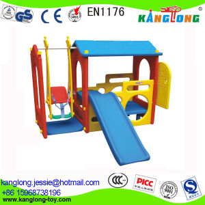 Colorful Plastic Slide/Seesaw for Kids (KL 227-2) pictures & photos