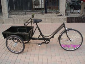 "24"" Cheap Shopping Tricycle Cargo Three Wheeler (FP-TRB-J016) pictures & photos"