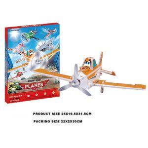 112PCS DIY Diorama Building Blocks Educational Plane 3D Puzzle Toy