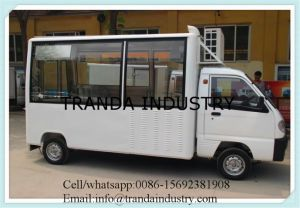 Hamburger Fruit Carts Snackice Cream Trucks with Air Conditioning Made in China pictures & photos