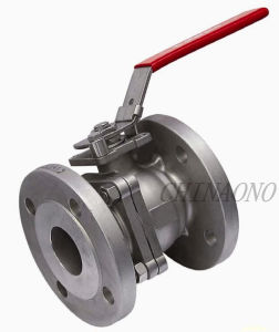 CF8m Carbon Steel or Stainless Steel Ball Valve with Flange pictures & photos