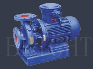 Iswb Horizontal Single Stage Single Suction Pipe Explosion-Proof Pump