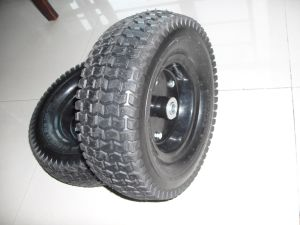 Tralier Wheel Wheelbarrow Heavy Pneumatic Wheel 6.50-8 pictures & photos