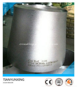 Seamless 310S/1.4845 Stainless Steel Concentric Pipe Reducer pictures & photos