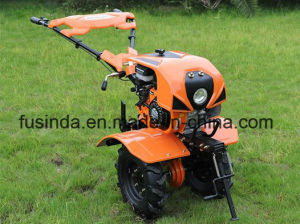 Horizontal Gasoline Engine Power Tiller Cultivator pictures & photos