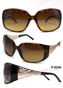 Fashion Plastic Sunglasses with 100% UV Protection (P-9346)