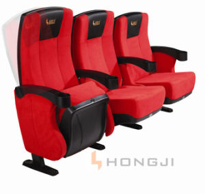with Cup Holder Multiplex Push Back Cinema Chair pictures & photos
