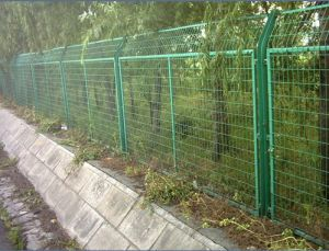 Modern Safety Wrought Iron Garden Wall Fence Wire Mesh Fence